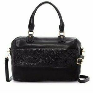 Two Tone Satchel Bag